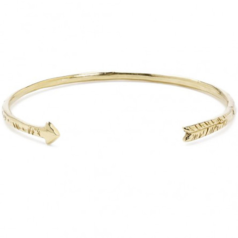 Thin Arrow Cuff Bracelet - Odette, NY