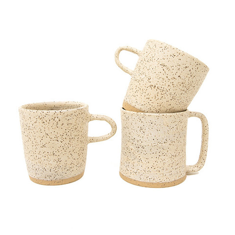 Speckled Clay Mug