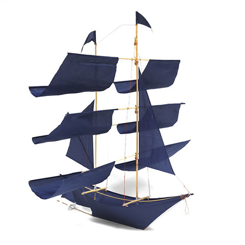 Sailing Ship Kite - Indigo